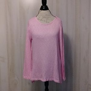 Chelsea & Theodore Pink Shirt Size XL